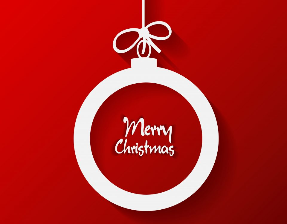We Wish You A Merry Christmas & A Happy New Year